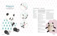 Gestaltung einer Seite für die Molly Makes (Aquarellbuntstifte)
